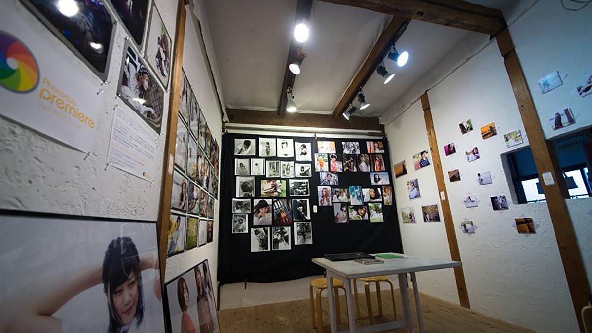 写真:写真展の会場
